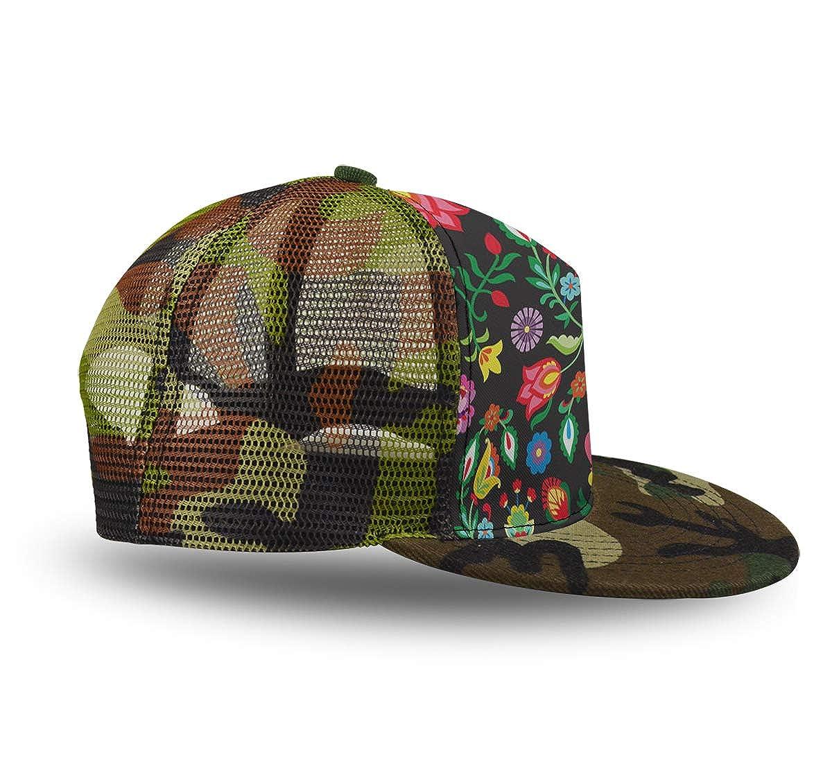 Adjustable Baseball Cap Dad Hat Men Women-Mexican Sugar Skulls