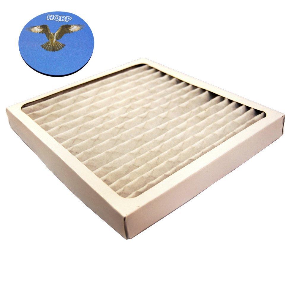 HQRP Filter for Hamilton Beach 04712 True Air Allergen Reducing Filter Replacement plus Coaster