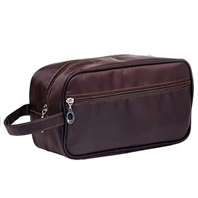 d822dc352b best Mwfus Mens Large Capacity Nylon Travel Toiletry Bag Dopp Kit ...
