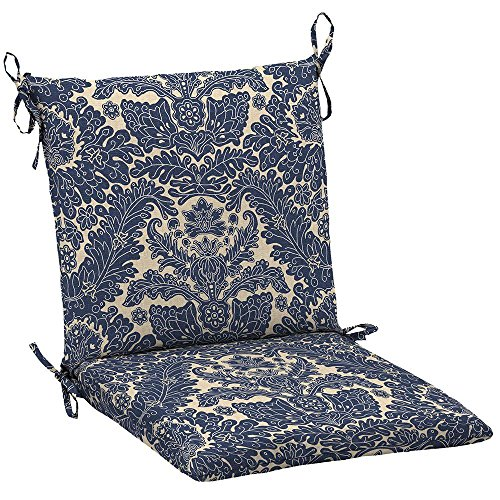 Chelsea Slipcover - Chelsea Damask Mid Back Outdoor Chair Cushion