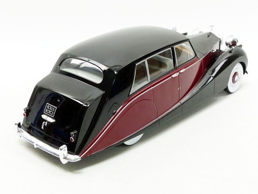 MCG Noir//Rouge 18064BKR Rolls-Royce Silver Wraith Empress by Hooper-1956 Voiture Miniature