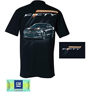 Apparel Joe Blow Chevy Mens Camaro Logo T-Shirt Small Black CVCFC