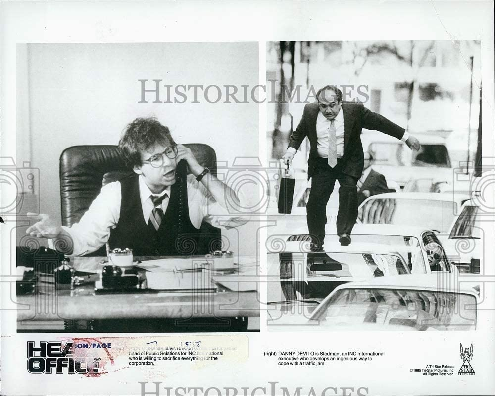 Historic Images 1985 Press Photo Head Office Starring Danny DeVito, Judge Reinhold