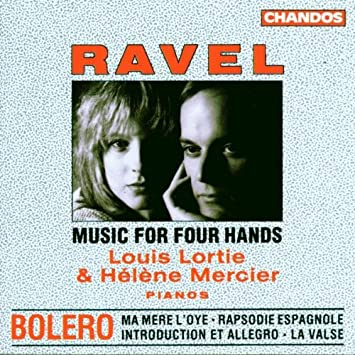 bolero two pianos four hands
