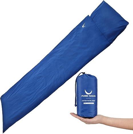 Trespass Slumber Adults Mummy Style Sleeping Bag Liner Camping Sleep Sheet