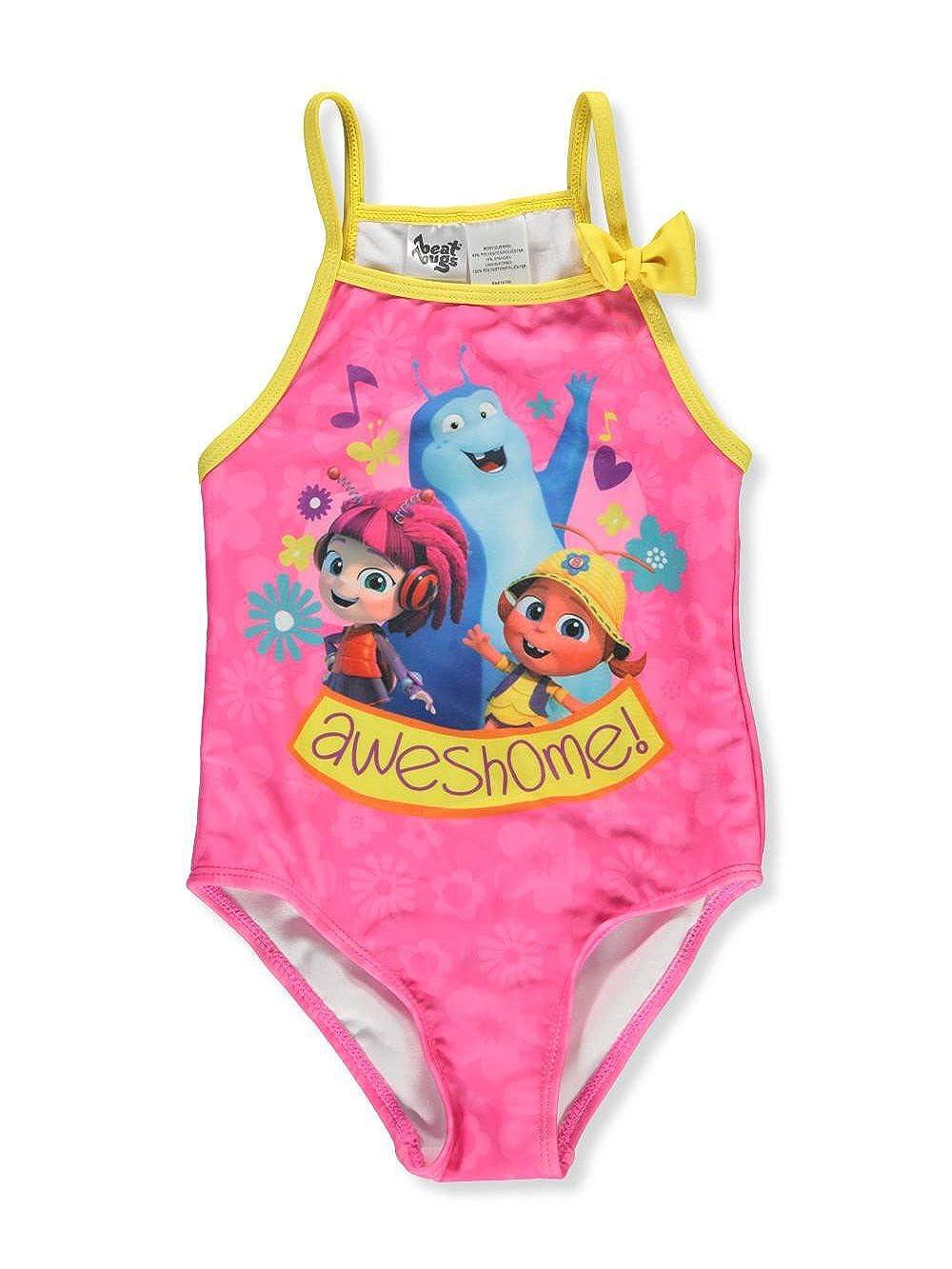 Beat Bugs Girls' 1-Piece Swimsuit