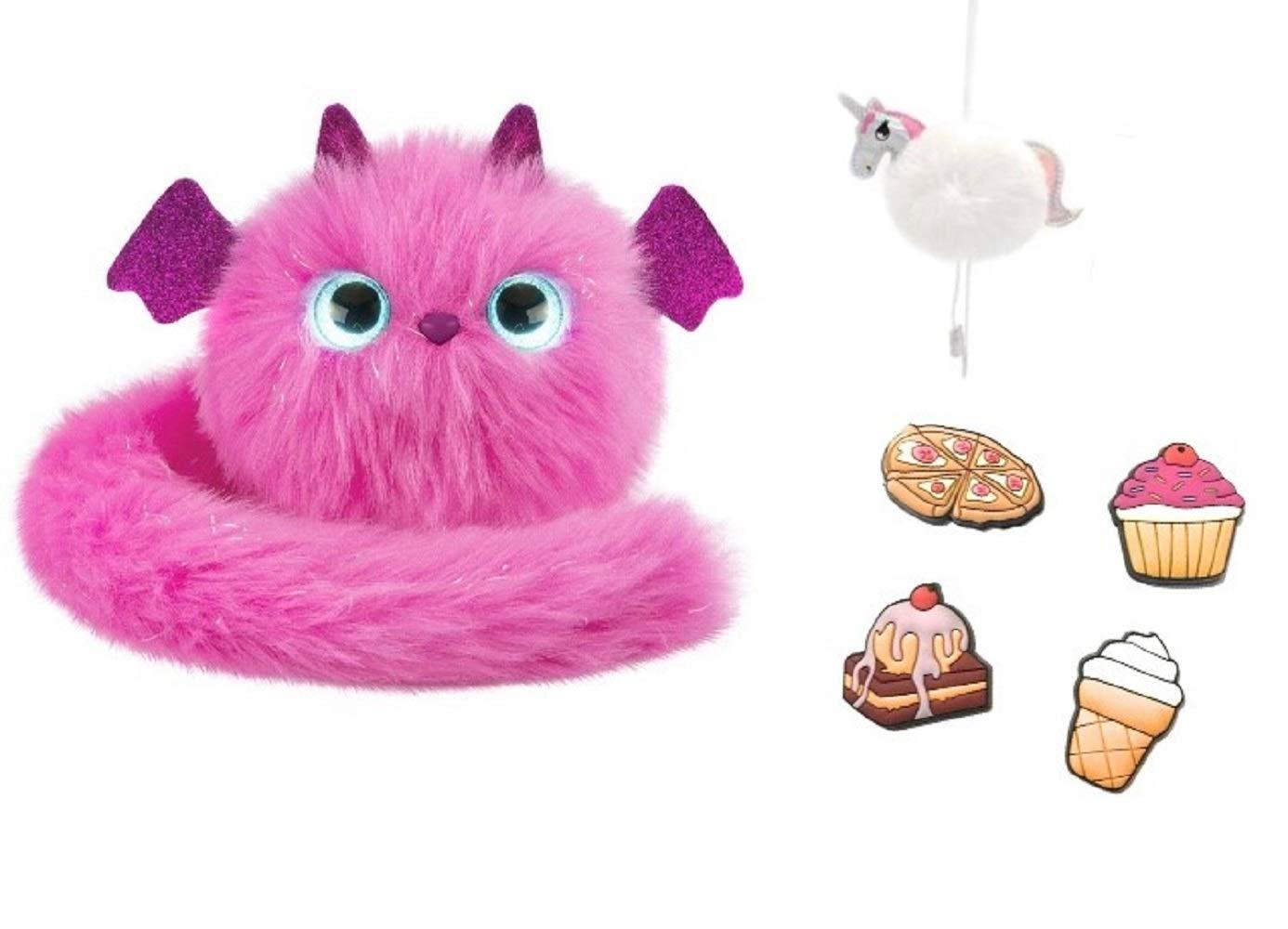 POMSIES Plush Interactive Toy Dragon •ZOEY• New!