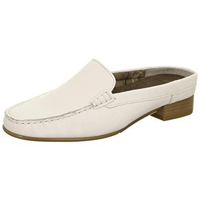 47c57b600cb Jenny by ara Ladies Sabots Slipper Atlanta 22-50126-07 White  Amazon.co.uk   Shoes   Bags