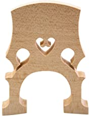 MonkeyJack Durable Aged Maple 4/4 Size Cello Bridge for Cellist Musical Instrument Accessory