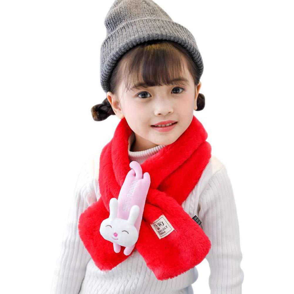 Gyratedream Neck Scarf Kids Winter Scarves Wraps for Boys Girls Neck Warmer 3-12 Years