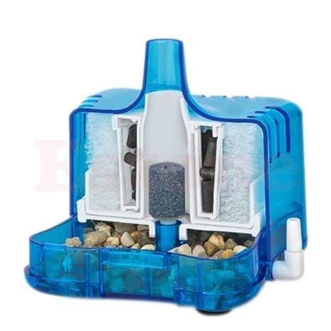 TOOGOO Pecera de acuario Filtro de carbon activado bioquimico estupendo/ filtro biologico del agua