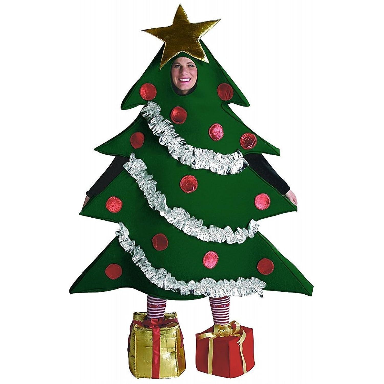 Amazon.com: Rasta Imposta Christmas Tree Costume, Green, One Size ...