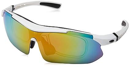 Para estrenar 5571e 68e18 Deportes Gafas de sol deportivas Neutral Para Hombre y Mujer ,Polarizadas  Marco Gafas para el esquí conducción, golf, Ciclismo biciGafas De Sol Para  ...