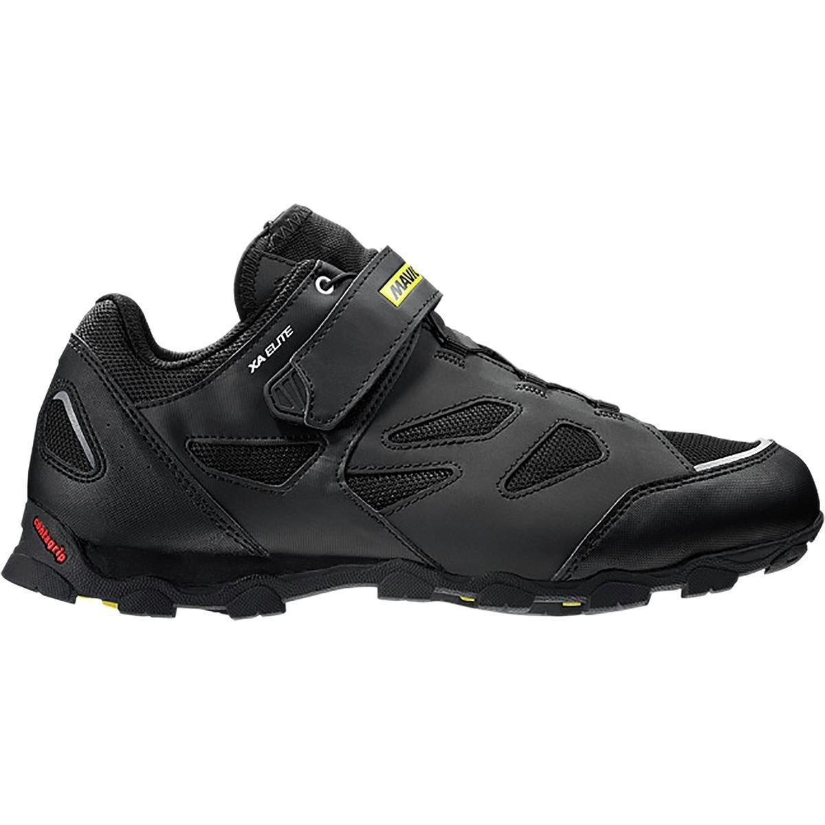 Mavic XA Elite Cycling Shoes - Men's Black/Black 10.0 UK/10.5 US by Mavic