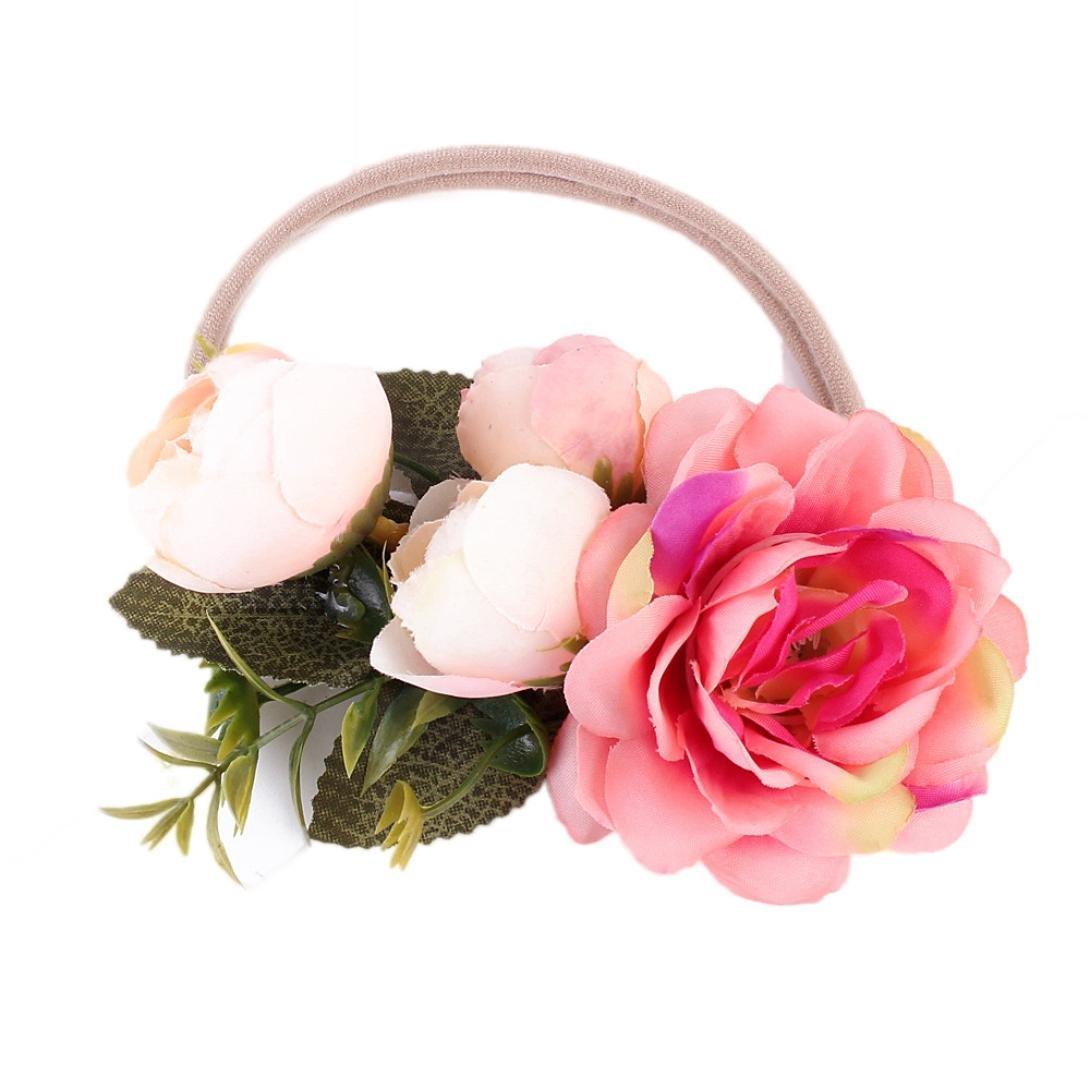 Cinhent Headband ACCESSORY ユニセックスベビー  ホットピンク B07DH3TXGR