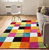 kids area rugs 8x10 - Modern Squares Multi Geometric Area Rug 8x10 ( 7'10
