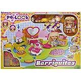 Barriguitas - Peluquería, muñeco y accesorios, 52 x 40 cm (Famosa 700011771)