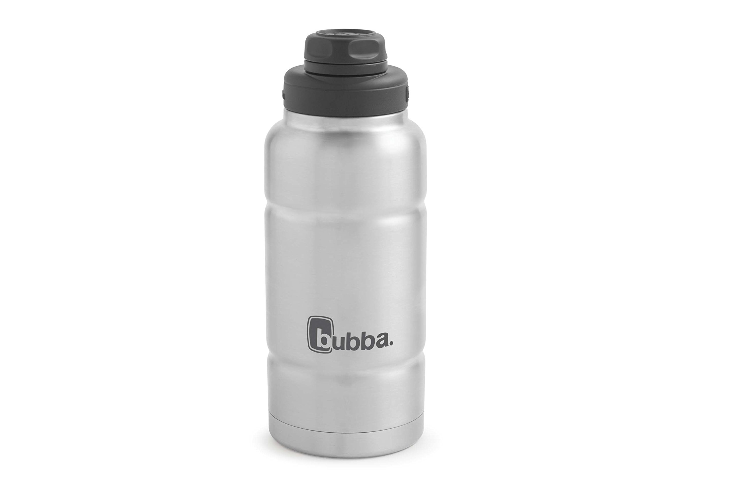 Bubba Trailblazer Vacuum-Insulated Stainless Steel Water Bottle, 32 oz, Stainless Steel