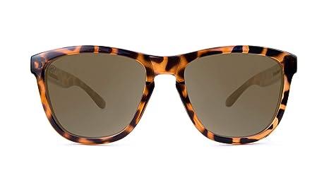 Knockaround Gafas de sol polarizadas de las primas Glossy Tortoise Shell/Amber: Amazon.es: Ropa y accesorios