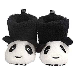 AMA(TM) Toddler Baby Girls Boys Lovely Winter Snow Boots Soft Sole Crib Shoes (12~18 Month, Black)