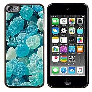 - crystal meth rocks candy blue beach - - Modelo de la piel protectora de la cubierta del caso FOR Apple iPod Touch 6 6th Generation RetroCandy