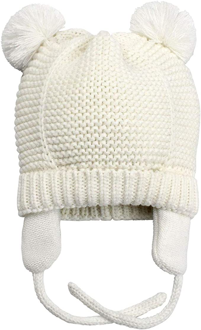 Toddler Kid Girl Boys Baby Winter Warm Hat Soft Knit Earflap Caps