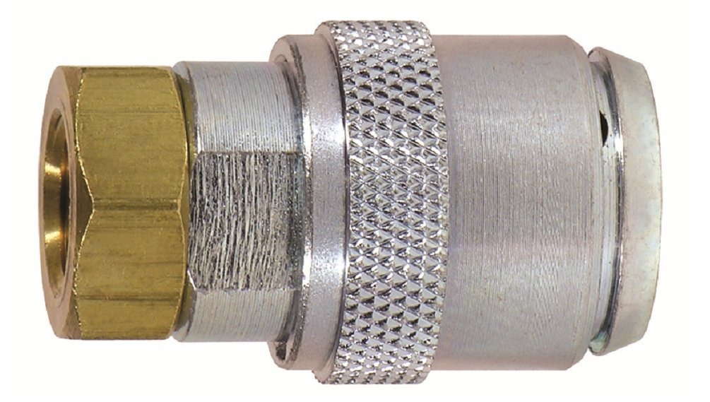 Tru-Flate 17-392 Large Bore Clip-On Locking Air Chuck for Big Rigs and Earth Moving Equipment