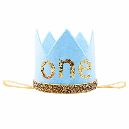 Amazon IMagitek Baby Prince Birthday Crown Tiara Headbands