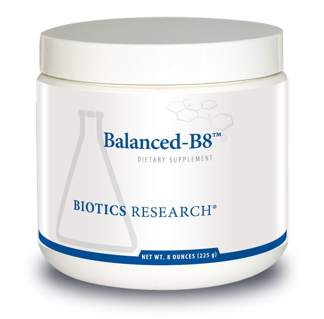 Biotics Research Balanced-B8TM- Powder, Myo-inositol and D-chiro-inositol, 40:1ratio, Women's Health, Optimal Blood Sugar Support, Neural Communication, Fat Metabolism, Vascular Health, Hair Growth 8oz by BIOTICS