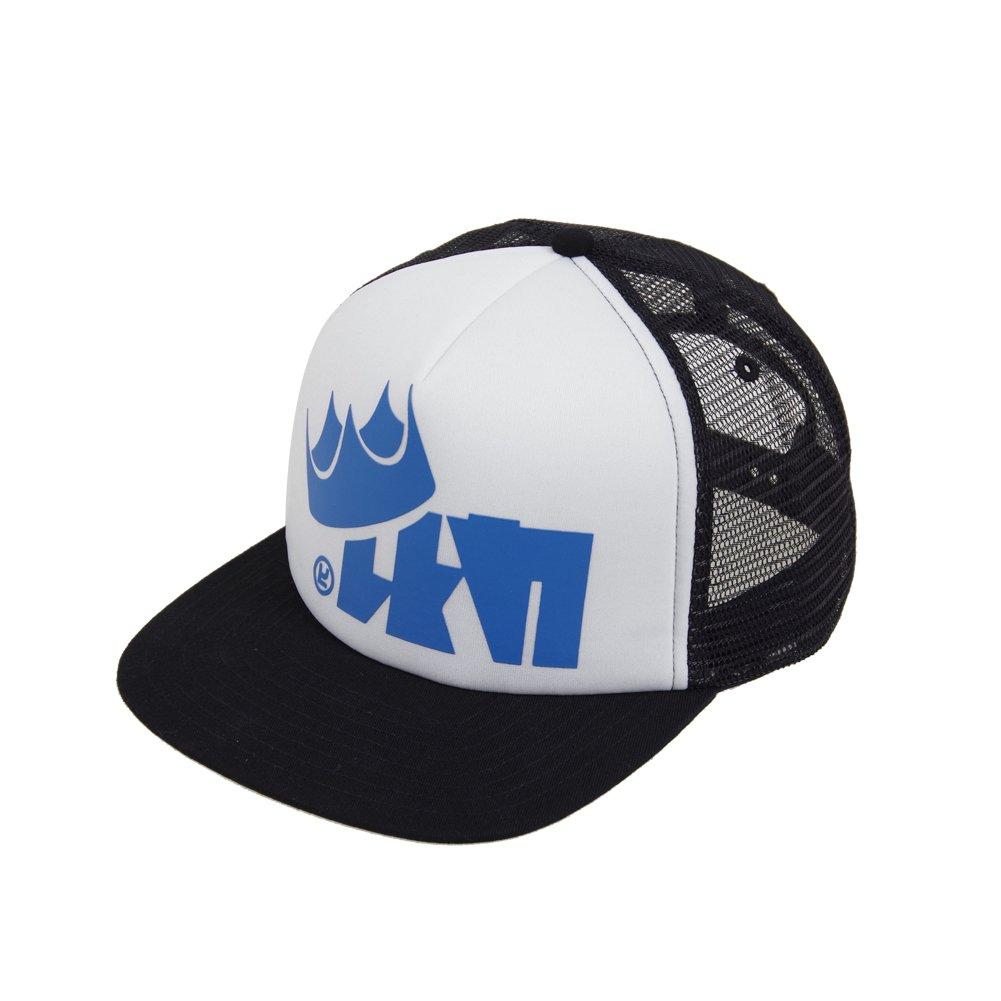 T-Shirt Vest Squid Socks King Flip Mesh Hat Cosplay accessories (Free Size, Blue Hat)