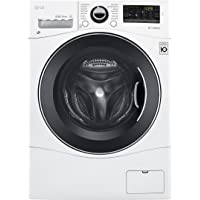 "LG WM3488HW 24"" Washer/Dryer Combo with 2.3 cu. ft. Capacity, Stainless Steel Drum in White"