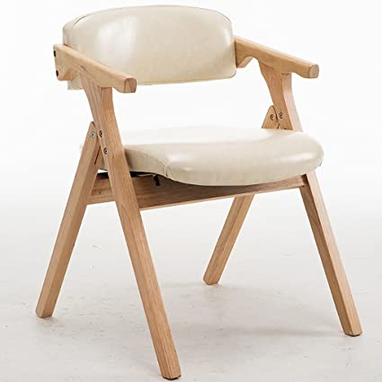 Silla Plegable De Madera Moderna Simple Paño De Moda Cera De ...