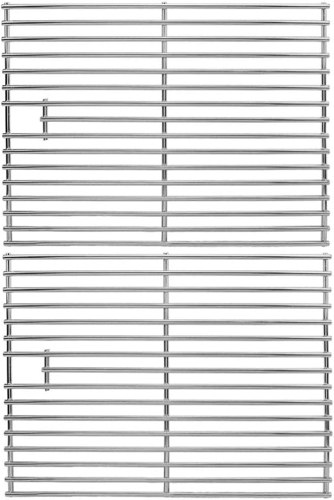 17 inch Grill Grates for Home Depot Nexgrill 720-0830H, 720-0830D Gas Grill Model, Stainless Steel Cooking Grids Replacement Repair Parts