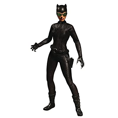 "Mezco Toys One: 12 Collective: DC Catwoman Action Figure, Multicolor, 6"": Toys & Games"