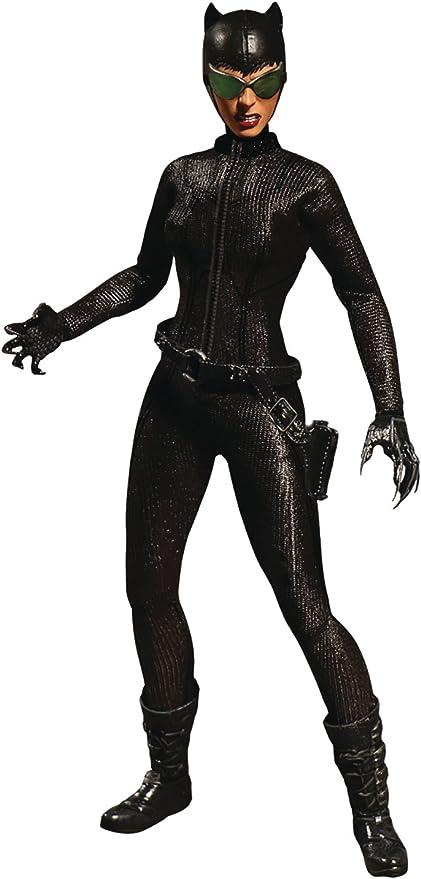 Mezco Toyz One:12 Collective Action Figure DC Comics Catwoman 1//12 Scale
