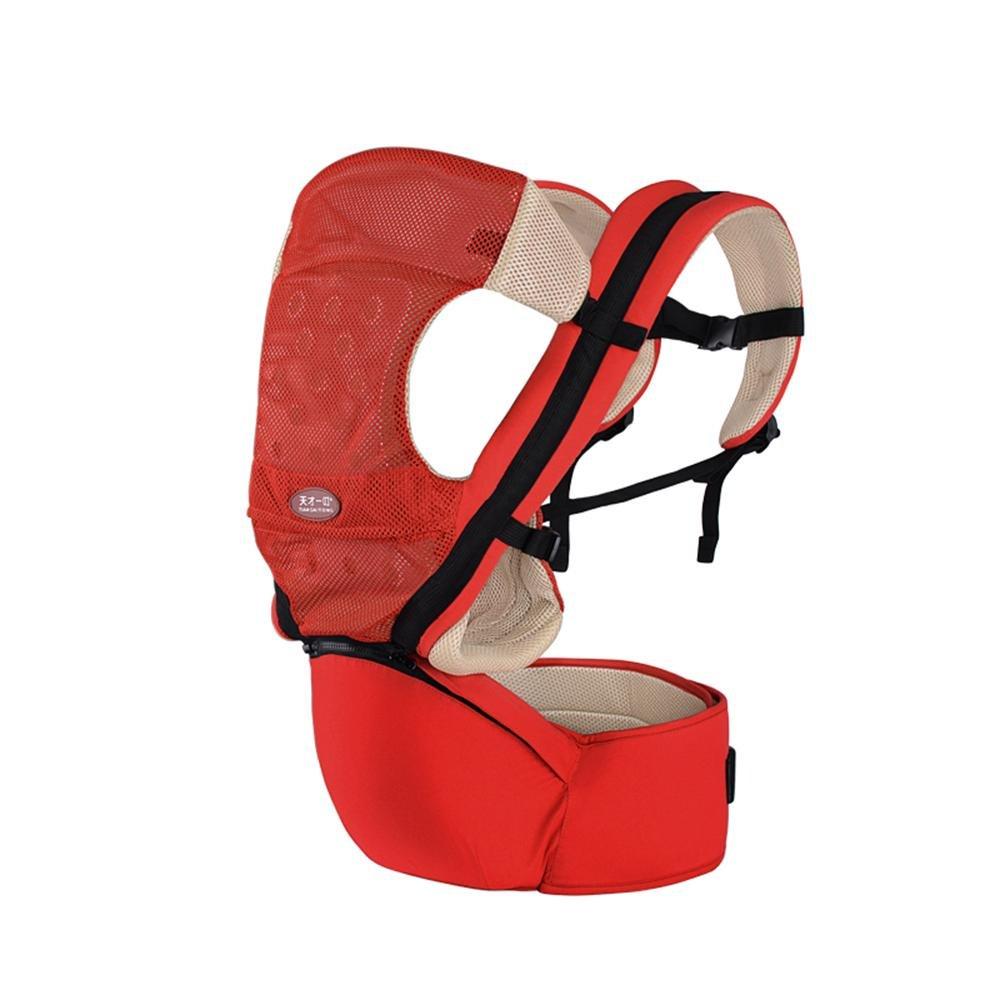 Babytrage Das Gesäß der Sitzträger Rutschfest Ergonomisches Design 4 Arten von Möglichkeiten zu tragen herausnehmbare Sitze tragbar Multifunktions Babybauchtragen
