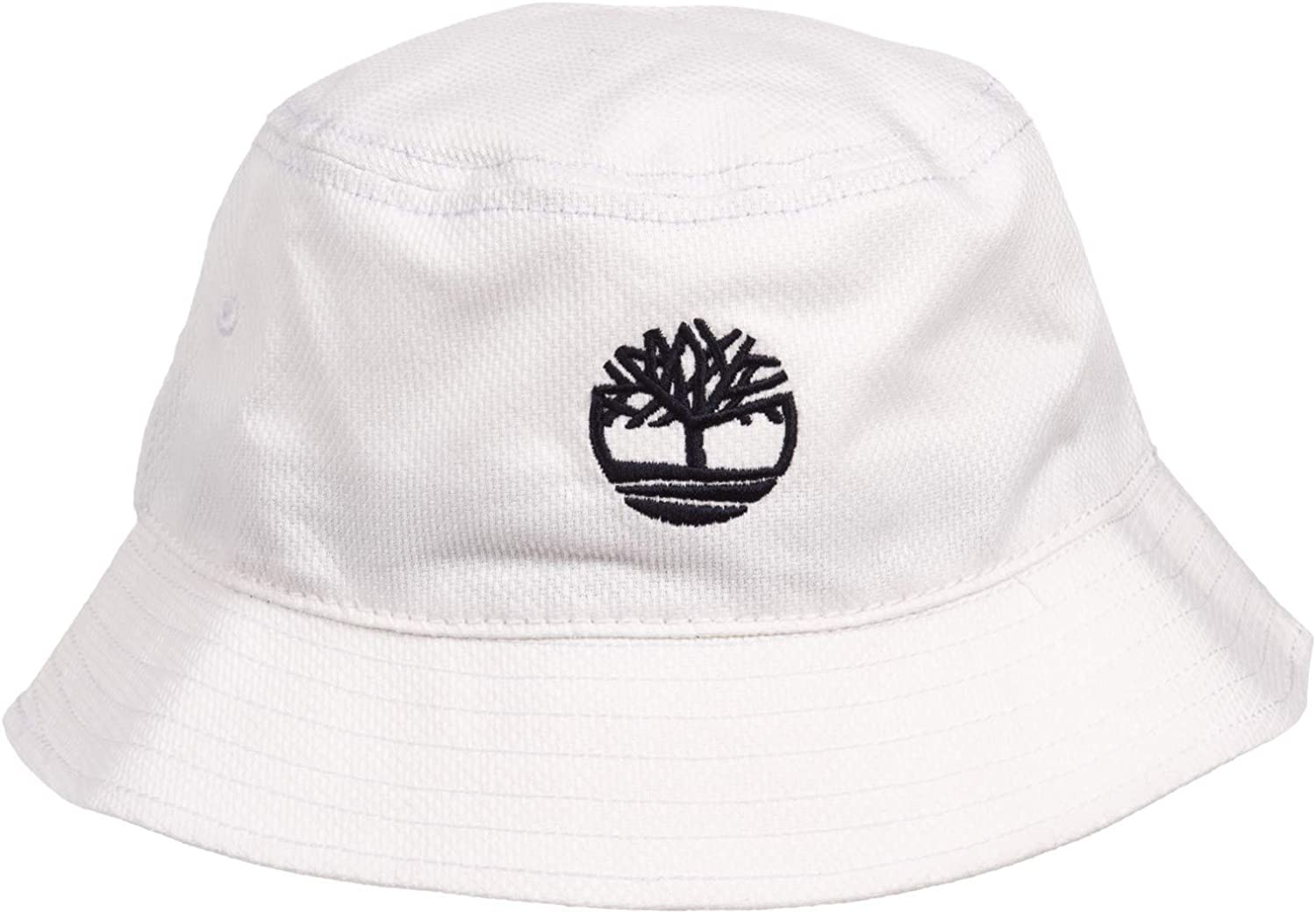 comportarse alivio violín  Timberland Men`s Tree Logo Bucket Hat (One Size, White/Black): Amazon.ca:  Clothing & Accessories