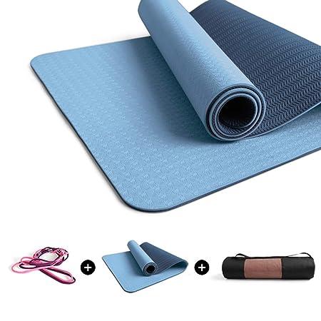 SHONGSHONG Sports Yoga Mat Yoga Mat Ecológico Antideslizante ...