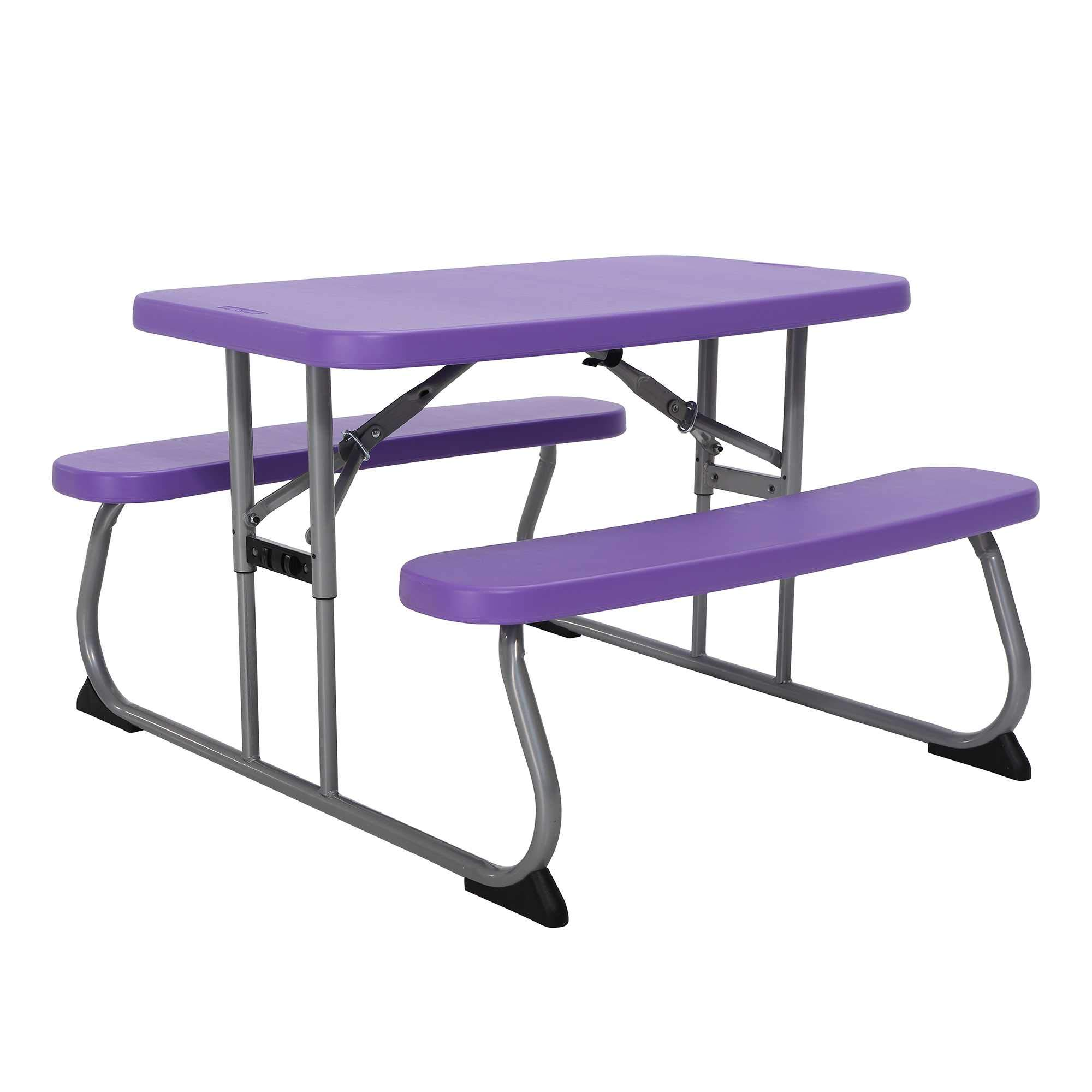 Wal Childrens Picnic Table (Purple)