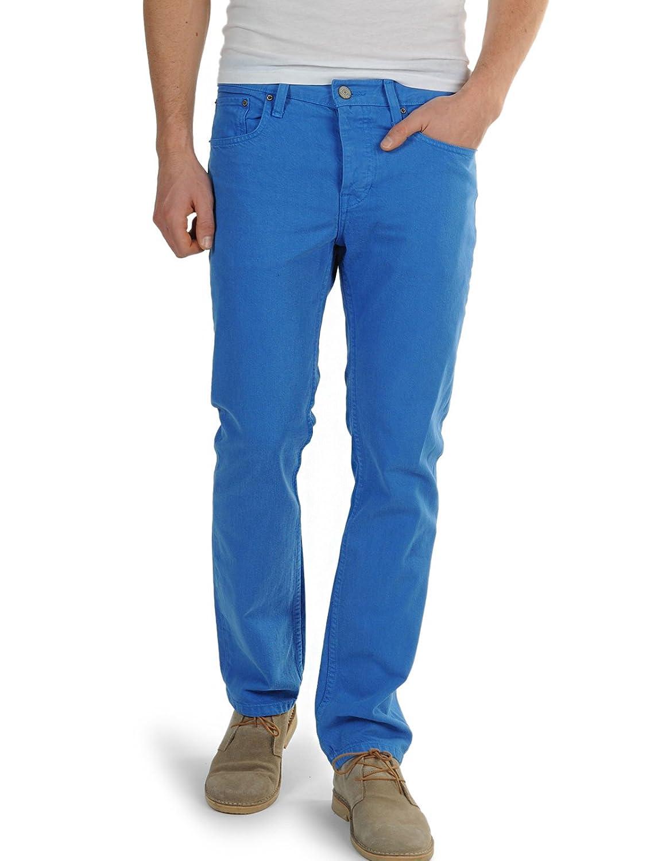 adidas 201603 Slim Fit - Pantalones Vaqueros, Hombre, Azul ...