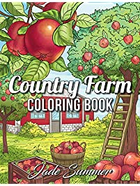 Country Farm Coloring Book