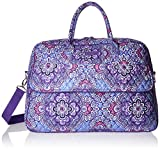 Vera Bradley Luggage Women's Grand Traveler Lilac Tapestry Duffel Bag