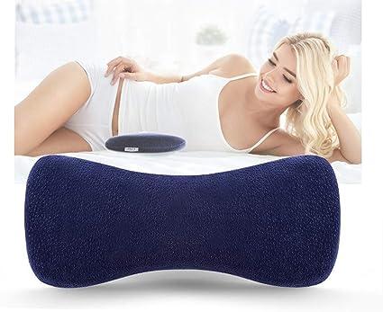 Memory Foam Sleeping Lumbar Pillow Lower Back Pain Orthopedic Support Fo