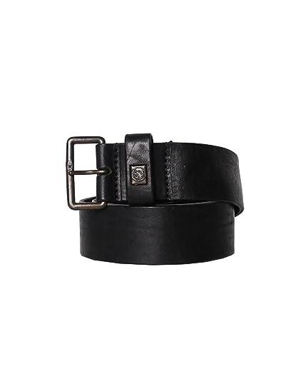 Diesel - Ceinture en cuir BILLER - noir, 100  Amazon.fr  Vêtements et  accessoires 370fd1d8f17