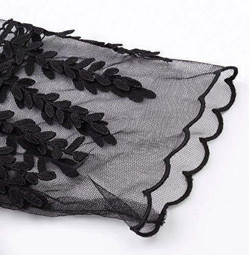 Poque Bp247 Kleid Gothic Corsagenkleid Damen Lang Schwarz Steampunk Kleid 3 Belle 1wUzqw