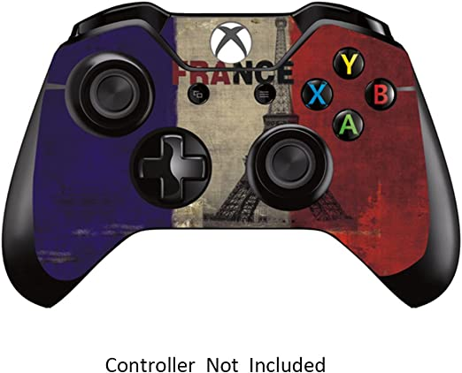 GameXcel ® Controlador Xbox Una piel - Xbox personalizada 1 mando a distancia de vinilo pegatinas - Modded Xbox One Accesorios cubren la etiqueta - French Flag [ Controlador no está incluido]: Amazon.es: Videojuegos