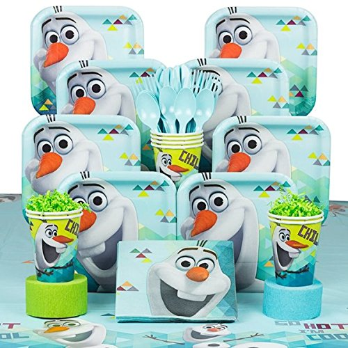 [Disney Olaf in Summer Party Bundle for 8 Guests] (Disney Frozen Snowman)