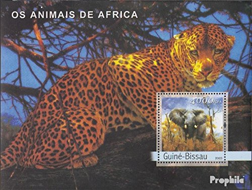 Guinea-Bissau Block428 2003 Animals Africa (Stamps for Collectors) Cats