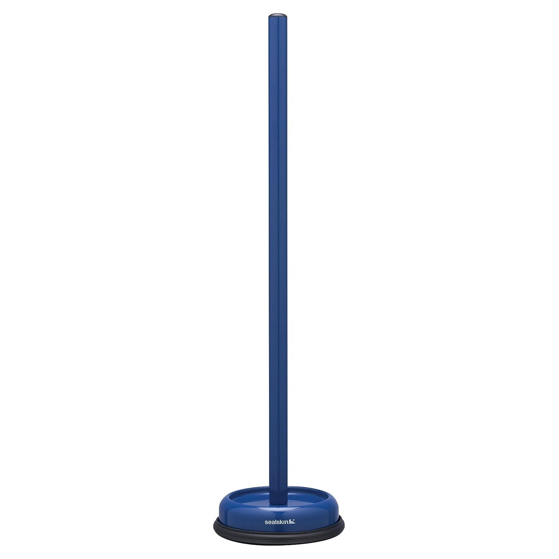Acero Inoxidable Azul 13.2 x 13.2 x 52.1 cm Sealskin Acero Portarrollos de Pie Reserva Acero