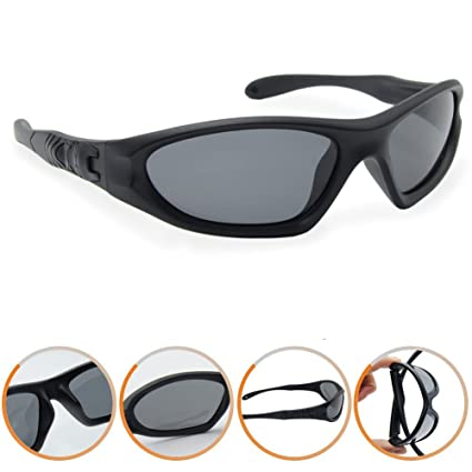 f8207a5970c Northgoose Kids Boys Girls Polarized Sunglasses UV Protection ngk0002-black